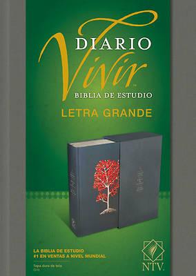 Picture of Biblia de Estudio del Diario Vivir Ntv, Letra Grande