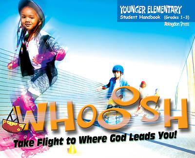 Vacation Bible School (VBS) 2019 WHOOOSH Younger Elementary Student Handbook (Grades 1-3) (Pkg of 6)