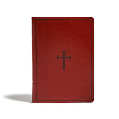 Picture of KJV Super Giant Print Reference Bible, Brown Leathertouch