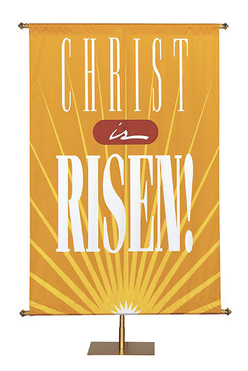 Banner Christ Is Risen