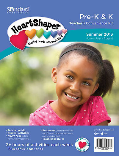 Standards HeartShaper Pre-K & K Teacher Kit Summer 2013