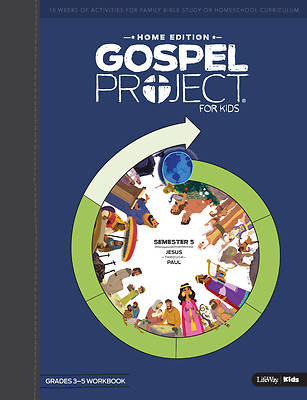 Picture of The Gospel Project Home Edition Grades 3-5 Workbook Semester 5