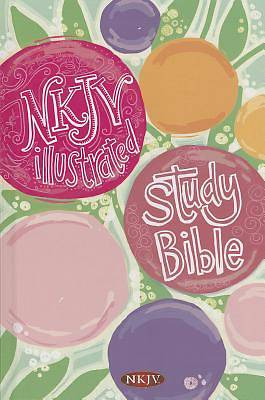 Picture of Illustrated Study Bible for Kids-NKJV-Girls