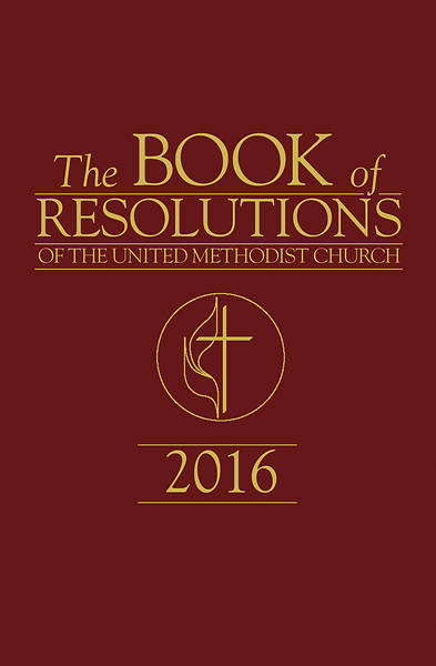 Picture of The Book of Resolutions of The United Methodist Church 2016