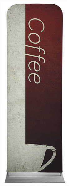 Coffee Color Block Sleeve Banner