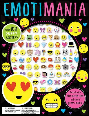 Puffy Stickers Emotimania