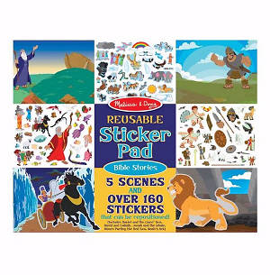 Bible Stories Reusable Sticker Pad - Melissa and Doug