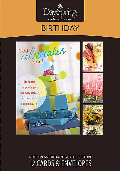 Sweet - Birthday Boxed Cards