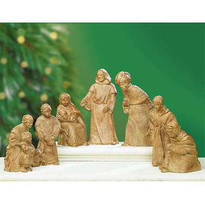 Holy Night Nativity Set by Donna Weaver