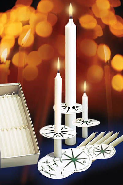 Emkay Candlelight Service Set - 425 Congregational Candles