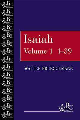 Westminster Bible Companion - Isaiah 1-39