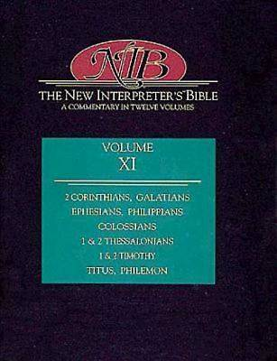 New Interpreters Bible Volume XI