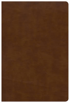 Picture of NKJV Large Print Ultrathin Reference Bible, British Tan Leathertouch, Indexed