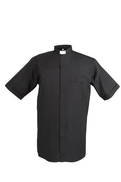Reliant Short Sleeve Tab Collar Clergy Shirt