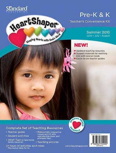 Picture of HeartShaper Pre K & K Teacher's Convenience Kit Summer 2015