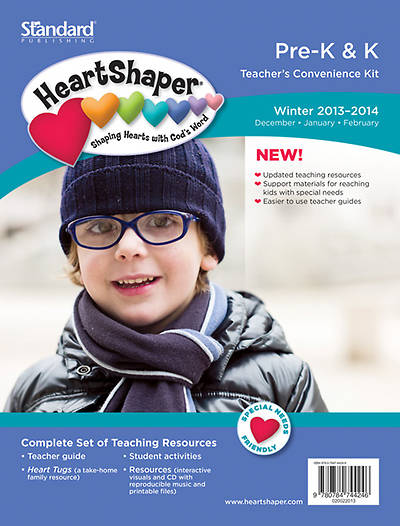 Standard HeartShaper Pre-K/K Teacher Kit Winter 2013-2014