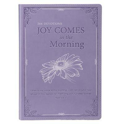 Joy Comes in the Morning - Purple Lux-Leather