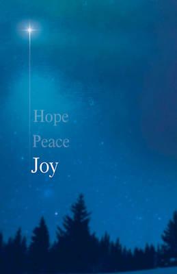 Picture of Joy Star Advent Bulletin (Pkg of 50)