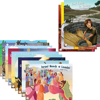 Picture of Simply Loved Q4 Bible Story Poster Set 12