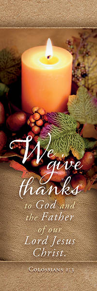 Picture of We Give Thanks Thanksgiving Bookmark