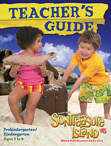 Gospel Light VBS 2014 SonTreasure Island Teachers Guide Pre-K/Kindergarten Ages 3 to 6