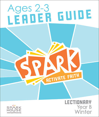 Picture of Spark Lectionary Ages 2-3 Leader Guide Year B Winter