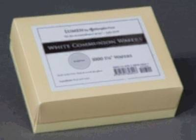 Picture of Communion Wafers, White (Box of 1000)