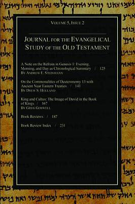Picture of Journal for the Evangelical Study of the Old Testament, 5.2
