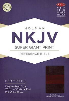 NKJV Super Giant Print Reference Bible