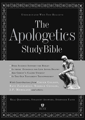 The Apologetics Study Bible Holman Christian Standard Bible