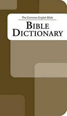 Picture of The Common English Bible: Bible Dictionary