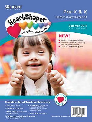 Standard HeartShaper Pre-K & K Teacher Kit Summer 2014