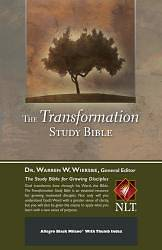 Picture of Transformation Study Bible-NLT