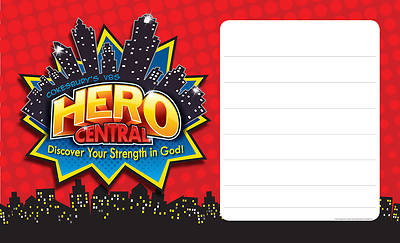Vacation Bible School VBS Hero Central Outdoor Banner