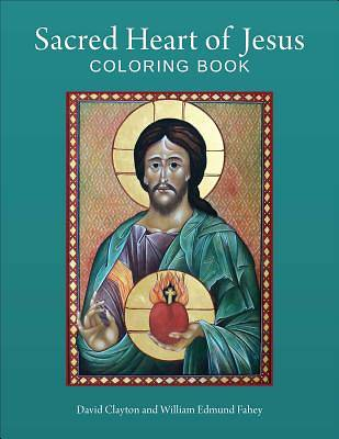 Picture of Sacred Heart of Jesus Coloring Book
