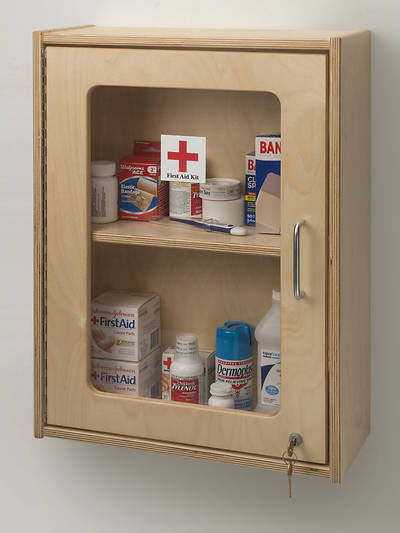 Picture of Lockable Medicine/First Aid Wall Cabinet