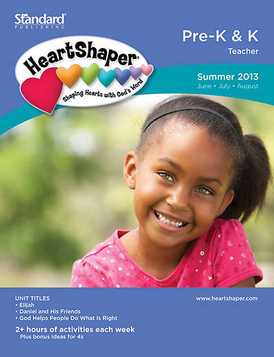Standards HeartShaper Pre-K & K Teacher Book Summer 2013