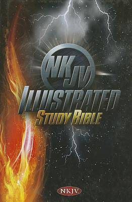 Picture of Illustrated Study Bible for Kids-NKJV-Boys