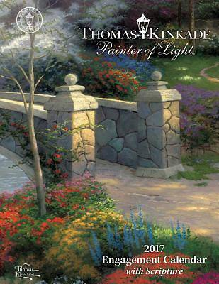 Picture of Thomas Kinkade Painter of Light with Scripture 2017 Engagement Calendar