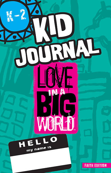 Love in a Big World Diversity/Social Justice Session K-2 Journal Print