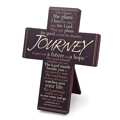 Journey Metal Easel Back Cross
