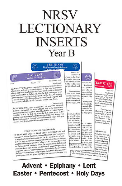 New Revised Standard Version Lectionary Inserts Year B Download (100-199 Members)