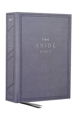 Picture of The Net, Abide Bible, Cloth Over Board, Blue, Comfort Print