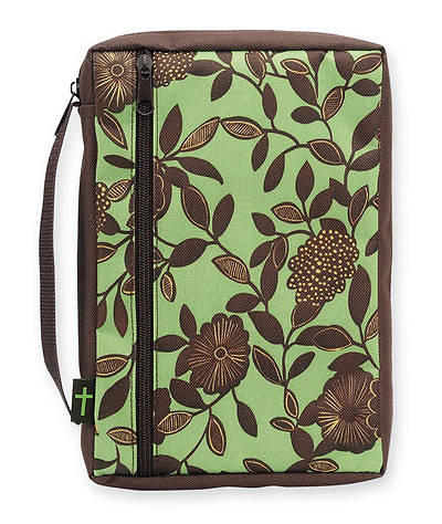 Bible Gear Flower Chocolate Mint Extra Large Bible Cover