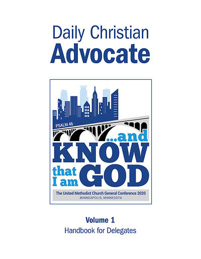 Picture of 2020 Advance Daily Christian Advocate English Volume 1
