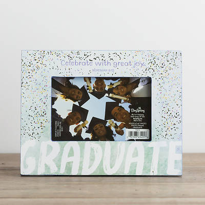Picture of Graduate Photo Frame - Celebrate With Great Joy