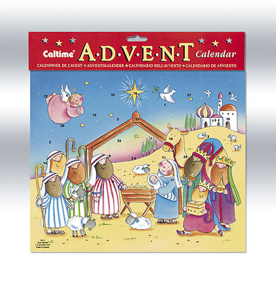 Cute Nativity Advent Calendar #CA625