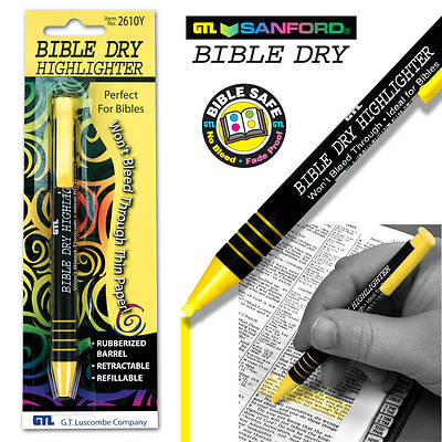 Bible Dry Highlighter - Yellow