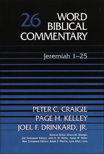 Picture of Word Biblical Commentary Jeremiah 1-25