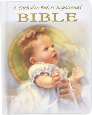 Picture of A Catholic Baby's Baptismal Bible